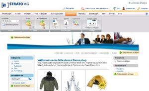 Strato webshop design